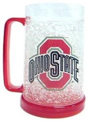 Ohio State Buckeyes 16oz Crystal Freezer Mug
