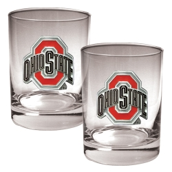 Ohio State Rocks Glasses Set