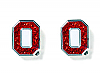 Ohio State Glitter Post Earrings