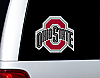 "Ohio State Buckeyes 12"" Diecut Window Film"