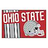 "Ohio State Uniform Inspired Starter Rug 19""x30"""