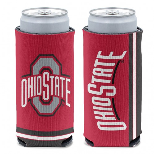 Ohio State 12 oz Slim Can Cooler