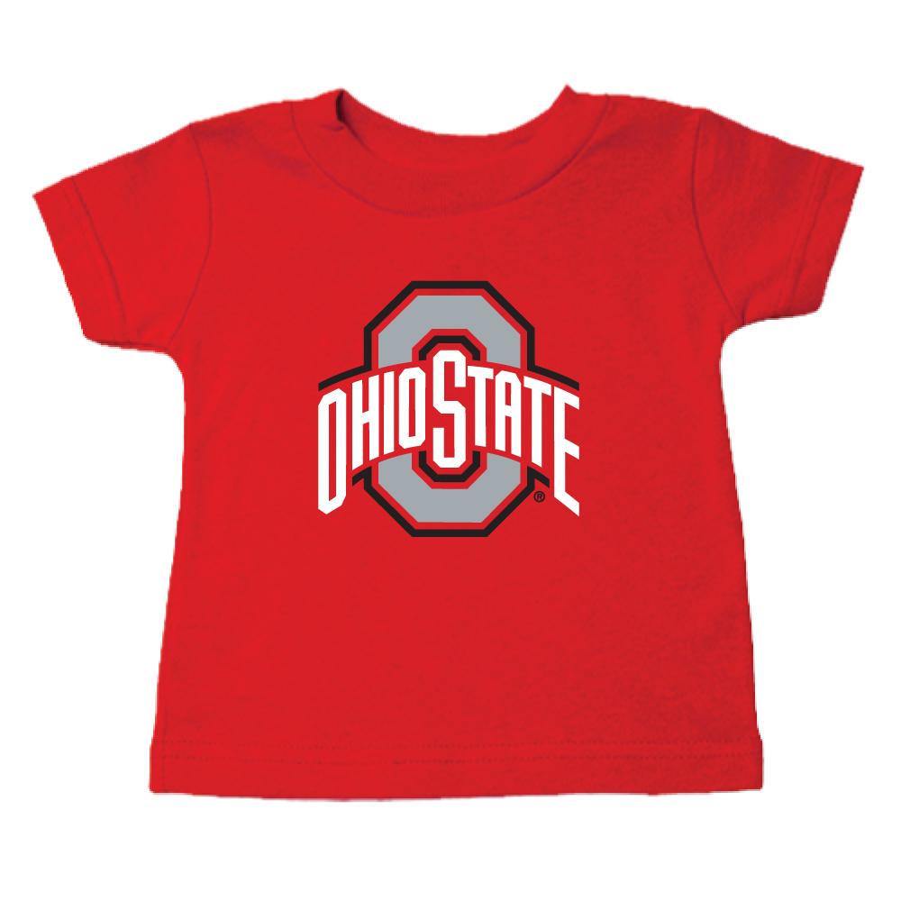 Ohio State Unisex Red Tee Shirt