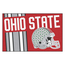 "Ohio State Uniform Inspired Starter Rug 19""x30"""