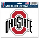 Ohio State Athletic O 5x6 Multi-Use Decal