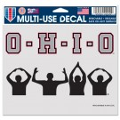 Ohio State Silhouette 5x6 Multi-Use Decal