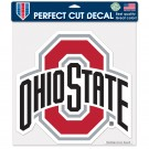 Ohio State Athletic O 12x12 Perfect Cut Decal