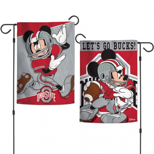 Ohio State Disney Garden Flags