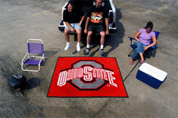 "Ohio State Tailgater Rug 60""72"""