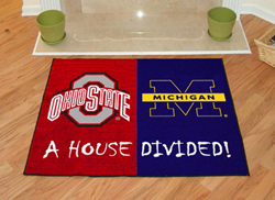 """Ohio State - Michigan House Divided Rugs 34""""x45"""""""