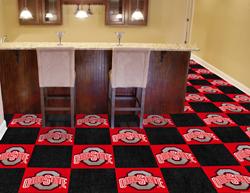 """Ohio State Carpet Tiles 18""""x18"""""""