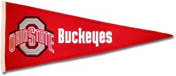 Ohio State Buckeyes Medium Traditions Pennant