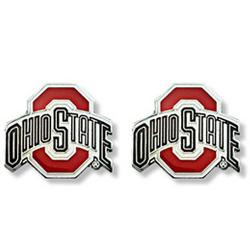 Ohio State Buckeyes Logo Post Earrings