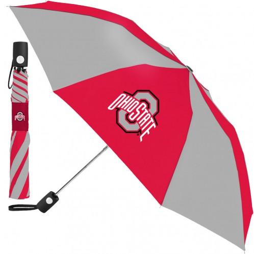 Ohio State Auto Folding Umbrella