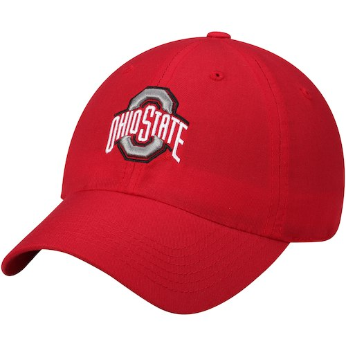Ohio State Athletic O Red Adjustable Hat
