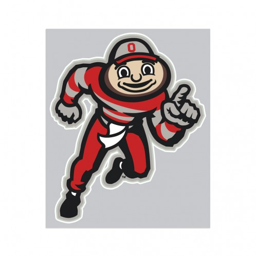 Ohio State Brutus Decal 4x7