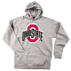 Ohio State Buckeyes Athletic O Gray Hoodie